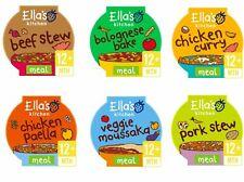 Ella's Kitchen Baby Meal - Chicken Pork Beef Pasta Veg 12month 200g Packs