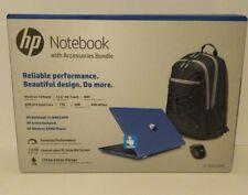 "New HP 15-bw033wm 15.6"" AMD A12-9720 2.7GHz 8GB 1TB Win 10 Touch Laptop Bundle"