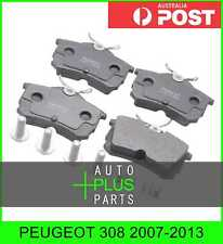 Fits PEUGEOT 308 2007-2013 - Brake Pads Disc Brake (Rear)