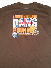 NFL Proline Fanatics Rare London Bound Dawg Pound Mens XL Cleveland Browns Shirt