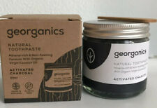 Georganics Natural  Natural Eco Friendly Toothpaste Charcoal Vegan Dental