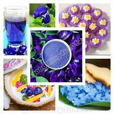 50g. NATURAL THAI PURE CLITORIA TERNATEA BUTTERFLY PEA BLUE TEA DRINK POWDER