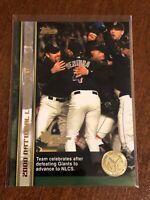 2000 World Series Topps Baseball Base Card #58 - New York Mets Team