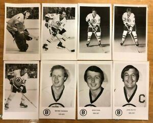 Boston Bruins Professional Photograph Lot 1976-1977