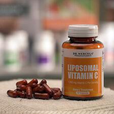 Dr. Mercola Liposomal Vitamina C 1,000mg (500mg, 60 cápsulas Licaps)