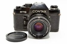 [Exc] Contax RTS 35mm Film Camera w/ Lens 50mm f/1.9 freeship from Japan