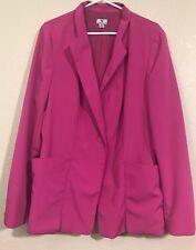 WORTHINGTON  Women`s Jacket Size XL Fashion Casual Dress Work Pink Blazer Suit
