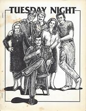 "Remington Steele Riptide Fanzine ""Tuesday Night"" GEN Fanfiction"