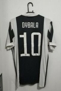 2017-18 Juventus Home Jersey Maglia Camiseta Maillot #10 DYBALA M Excellent