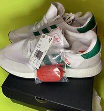 Adidas Iniki I-5923 D96818 Cloud White/Bold Green/Red 10.5