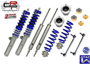 JOM Adjusable Coilover Kit BMW 3 Series E90 & E92 + End Links + Top Mount