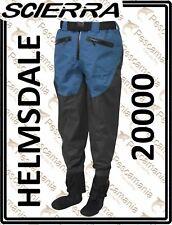 Wader Scierra HELMSDALE grigio/blu a pantalone 3 strati traspirante