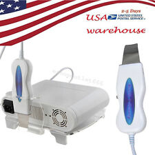 USA Anti-aging Ultrasonic scrubber Facial Cleaner Winckle Remove Acne nursing