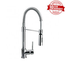 Chrome Koxy Spring Pull-Out Spray Kitchen Sink Mixer Tap Single Lever Handle