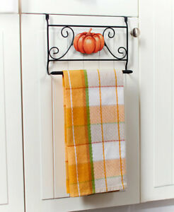 Interchangeable Seasons Towel Bar with Seasons Icons - 4 Pieces NEW GREAT FUN!