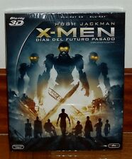 X-MEN-DIAS DEL FUTURO PASADO-BLU-RAY 3D+BLU-RAY-NUEVO-SLIPCOVER-NEW-*(SIN ABRIR)