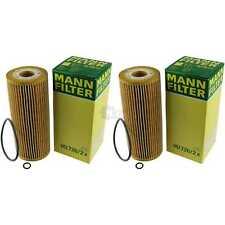 2x Original MANN-FILTER Ölfilter Oelfilter HU 726/2 x Oil Filter