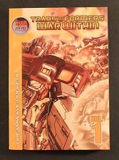 2004 Dreamwave Pockets TRANSFORMERS: WAR WITHIN VOL. 1 TP VG to EXC Out Of Print