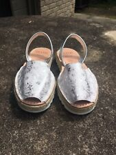 Handmade sandals in Spain size 7.5