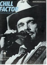 "MERLE HAGGARD ""CHILL FACTOR"" SHEET MUSIC-PIANO/VOCAL/GUITAR-1987-RARE-BRAND NEW!"