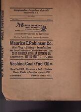 Binghamton NY 1950s Parochial Schools Book Cover w Local Ads