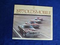 1977 OLDSMOBILE SALES BROCHURE CATALOG CUTLASS OMEGA CARS SUPREME BROUGHAM COUPE
