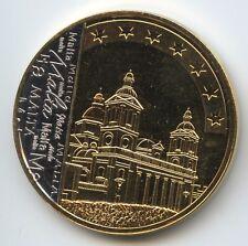 GY702 - Medaille Malta Valletta St. John's Co-Cathedral mit Rhodiumauflage