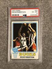 1973 Topps Basketball # 70 Oscar Robertson PSA 6 EX-MT