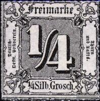 Thurn und Taxis 35 postfrisch 1865 Ziffer
