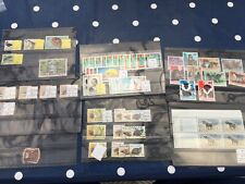 Africa stamps from various countries incl Congo and top Mali set