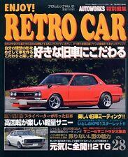 Enjoy RETRO CAR #28: Japanese Classic Car Fan Magazine