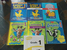 A Beka 1st Grade Letters Sounds Arithmetic Language Teacher Editions Keys EUC