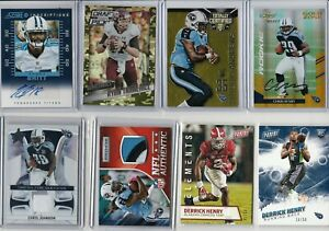 LOADED TENNESSEE TITANS LOT (41) W/ DERRICK HENRY RC PATCH LOW #'D AUTO'S RELIC