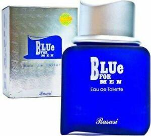 Rasasi Blue For Men Eau de Toilette Made in UAE 100 ml