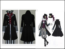 Black Butler Kuroshitsuji Undertaker Cosplay Costume UK