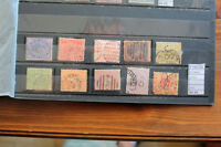 LOT STAMPS VICTORIA USED (F102730)