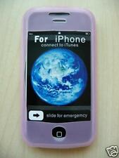 Cover case silicone shell pink iphone 3G 3GS + FILM