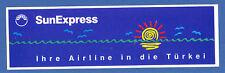 SunExpress Turkish Airlines LOGO Label Sticker