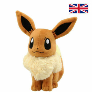 "NEW 7"" EEVEE  Go Plush Toy TOMY Soft Stuffed Animal Doll Evee Kids Gift"
