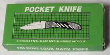 Tactical Folding Lock Back Knife 15-054 B Camping Fishing Household - BL865