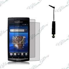 2x Films protection protecteur écran stylet  Sony Xperia X12 Arc S Lt15i Lt18i