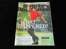 What Happened? TIGER WOODS Sports Illustrated PGA Golf Magazine 4/4/16