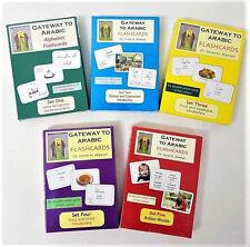 Gateway to Arabic Flashcards - 5 Pack Set
