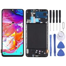 LCD SCREEN SAMSUNG GALAXY A70 SM-A705F WITH FRAME ECRAN DISPLAY PANTALLA SCHERMO