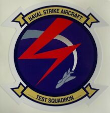 US NAVY NAVAL STRIKE AIRCRAFT TEST SQUADRON STICKER WATERPROOF NEW D336