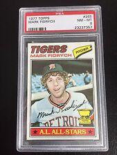 1977 Topps Detroit Tigers Team Set, PSA Avg 8.50, Mark Fidrych, Kemp, RC, Rookie
