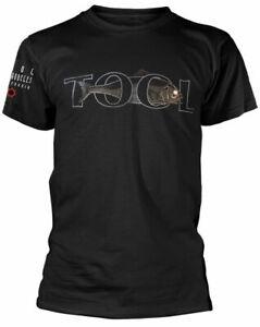 Official Tool T Shirt Fish Black Classic Rock Metal Band Tee New