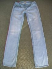 TRUE RELIGION 'BILLY SUPER T' STRETCH JEANS WMN SIZE 8