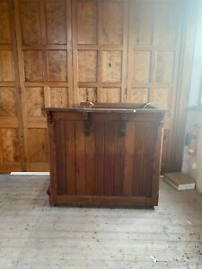 Reclaimed Pine Pulpit