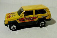1986 Matchbox #27 H-5 Jeep Cherokee Mr. Fixer Home Appliance Repair